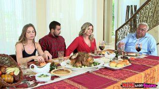 Moms Bang Teen – Naughty Family Thanksgiving